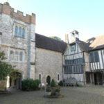 Ightham Mote courtyard