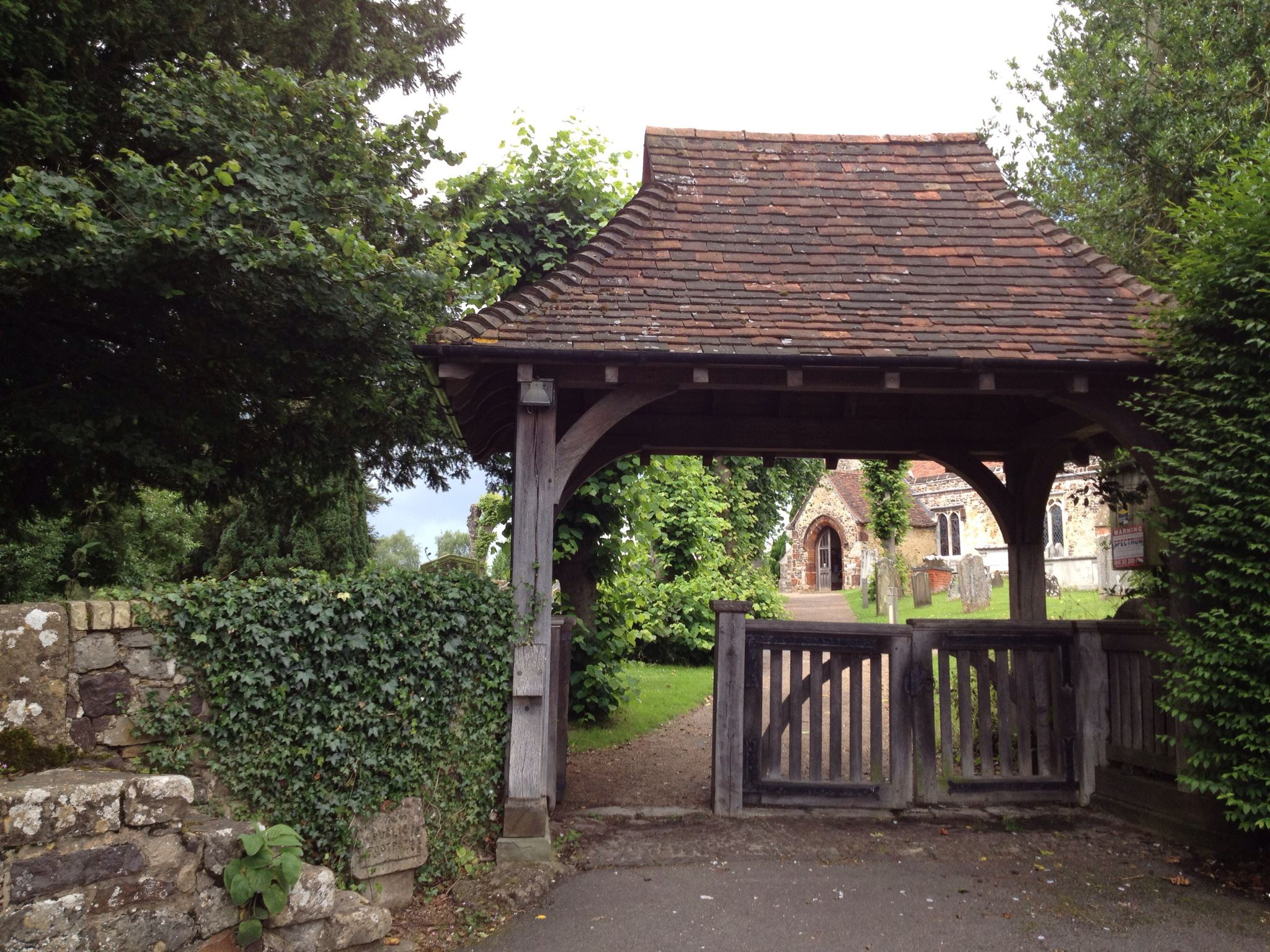 St Peters Church, Ightham - Lych gate