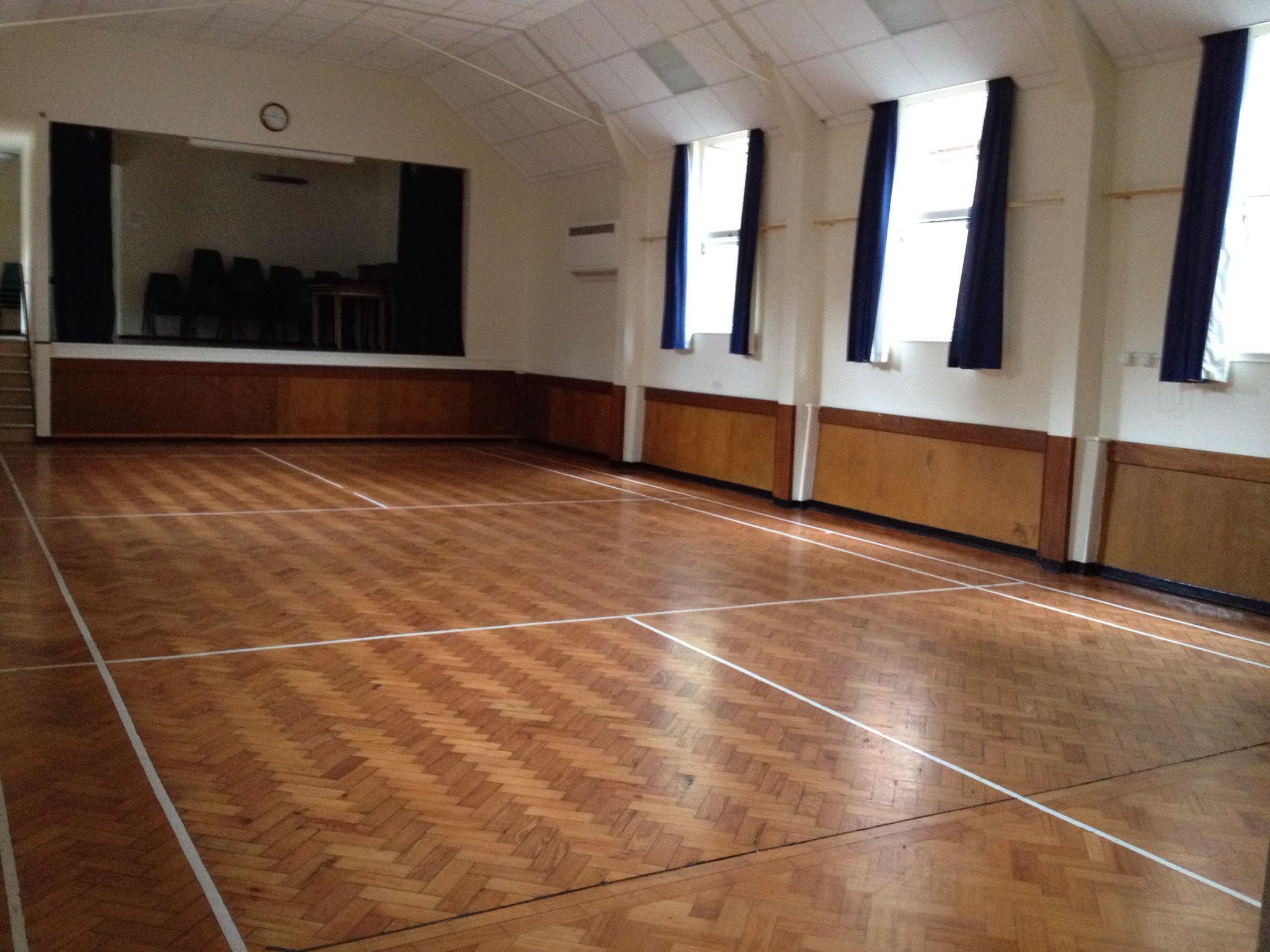 Ightham Village Hall interior