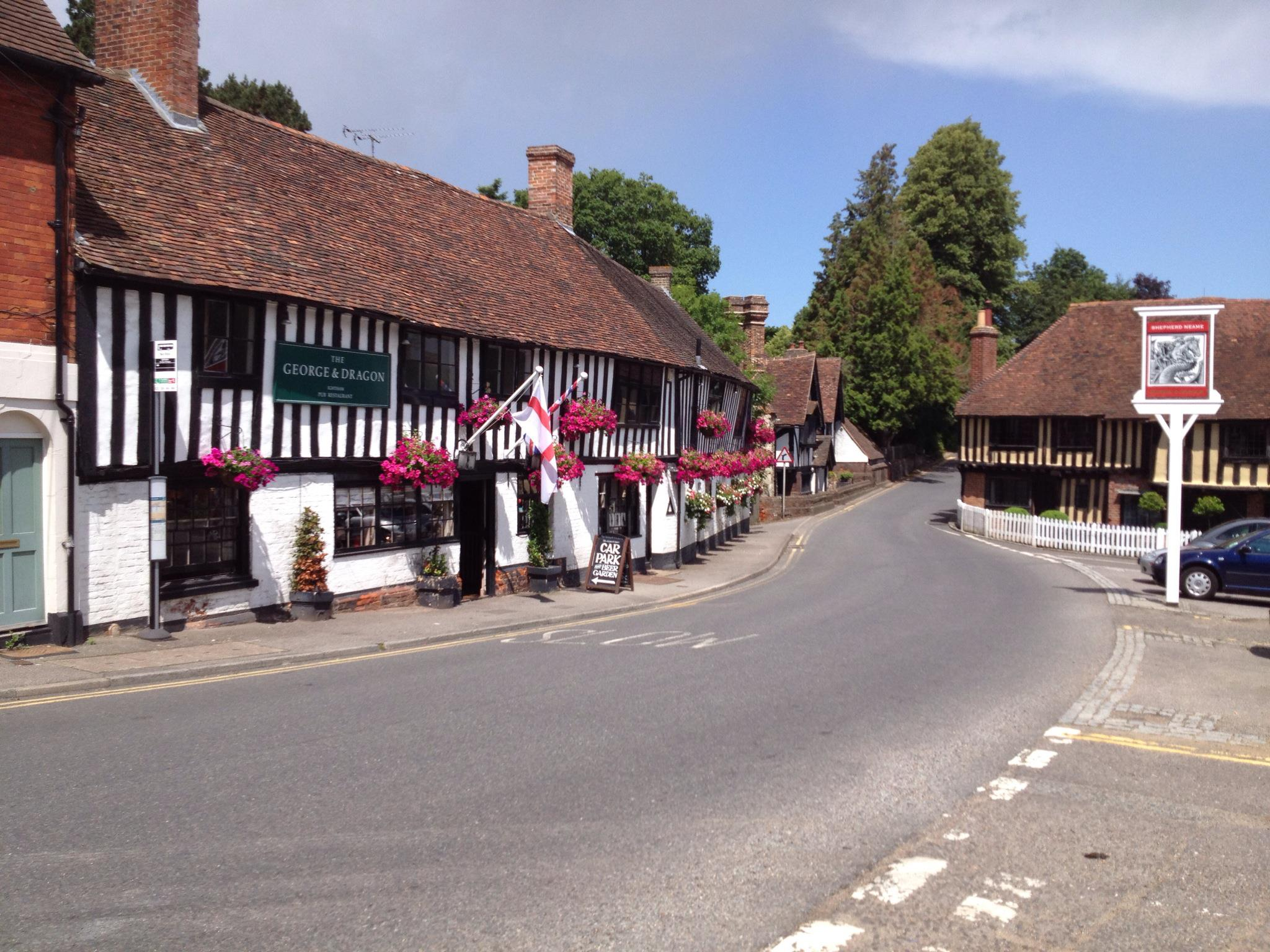 George and Dragon, Ightham