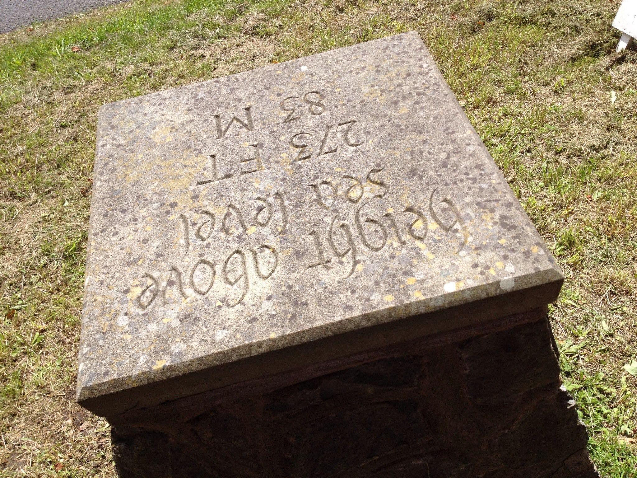 Ightham Millenium plinth