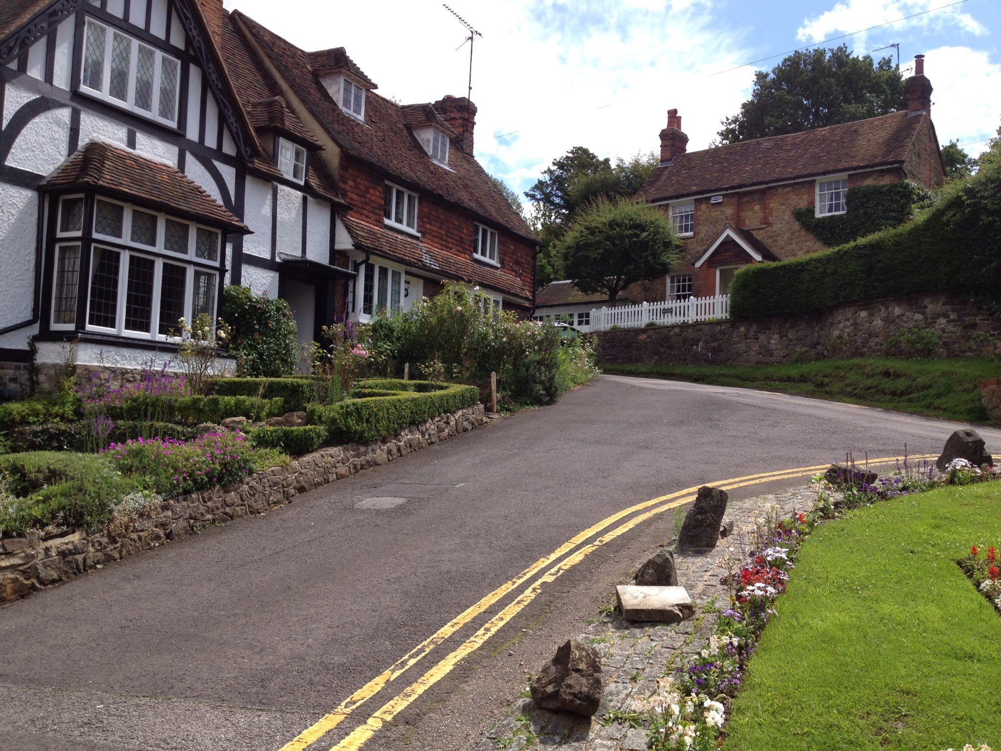 Ightham village centre