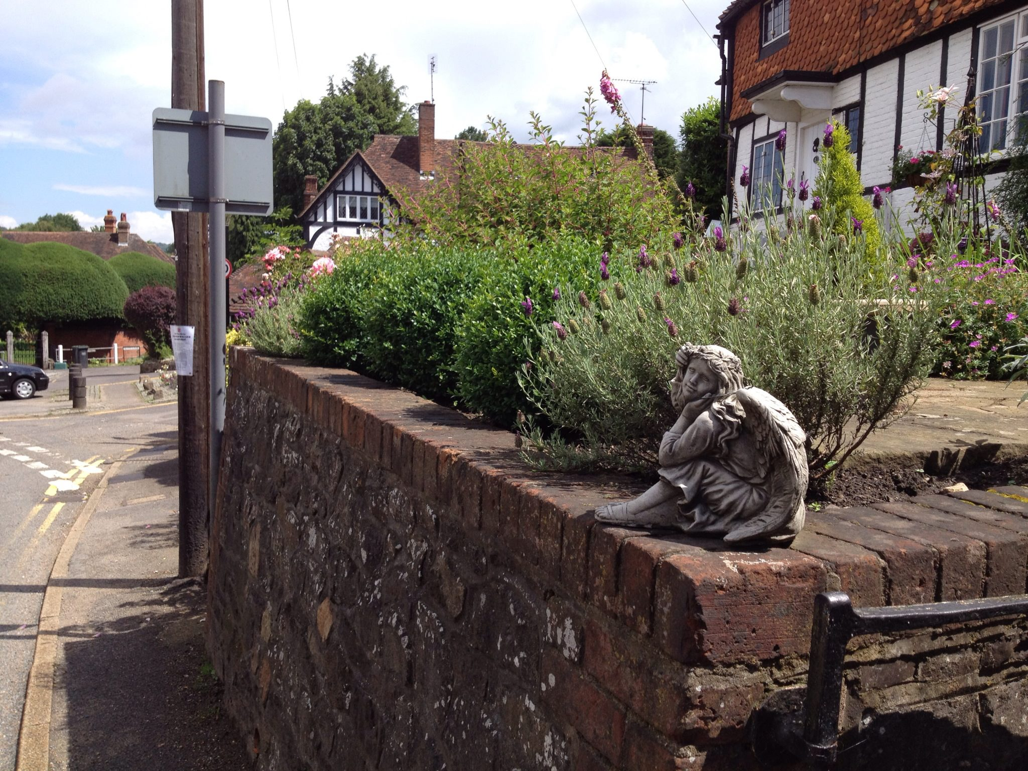 Ightham Village scene