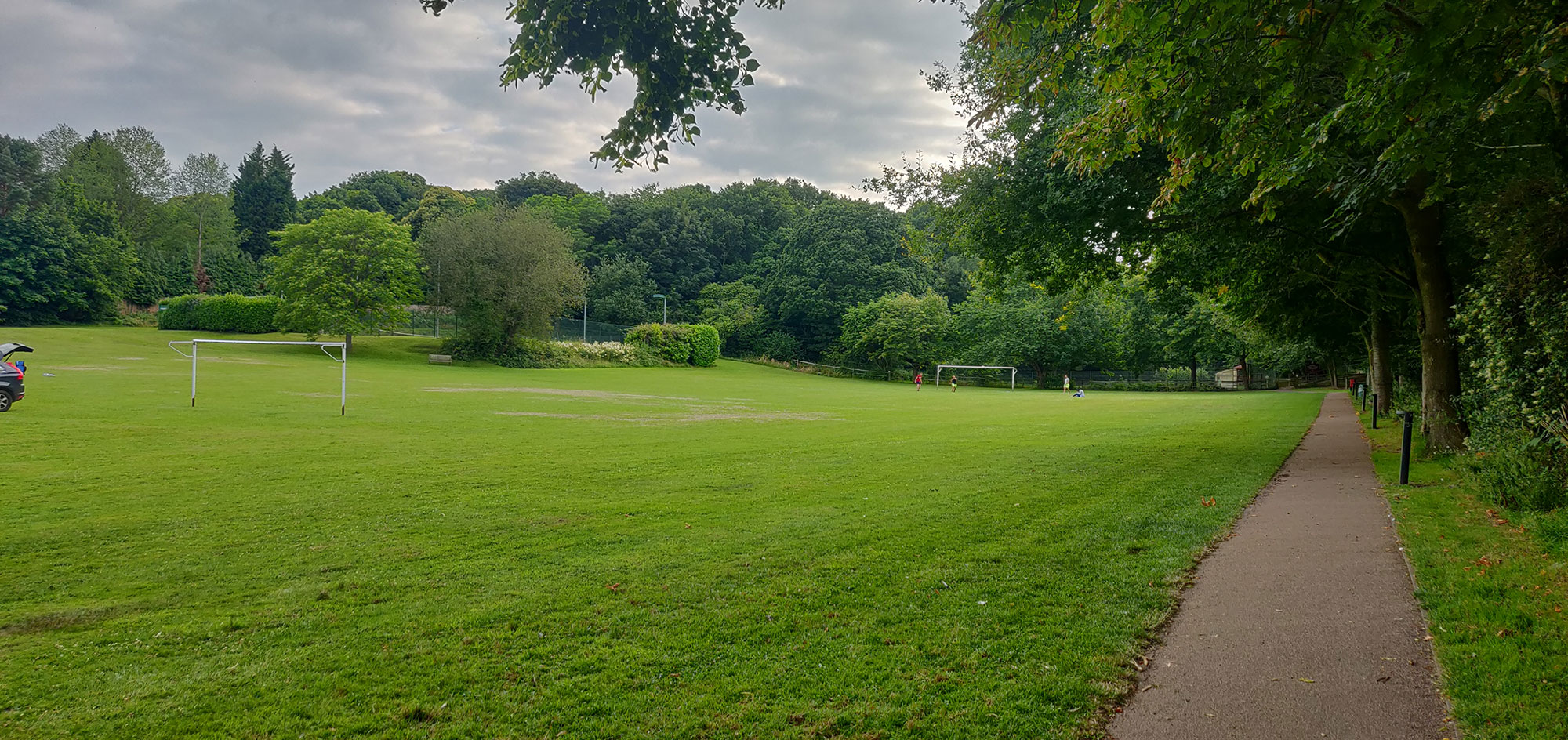 Ightham recreation ground football pitch