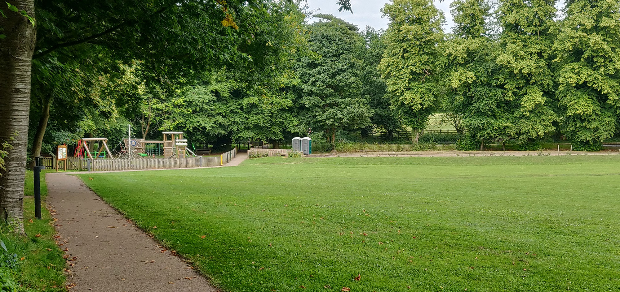 Ightham recreation ground playground