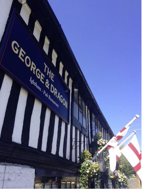 The George and Dragon signboard