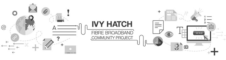 Ivy Hatch Fibre Broadband Community Project graphic