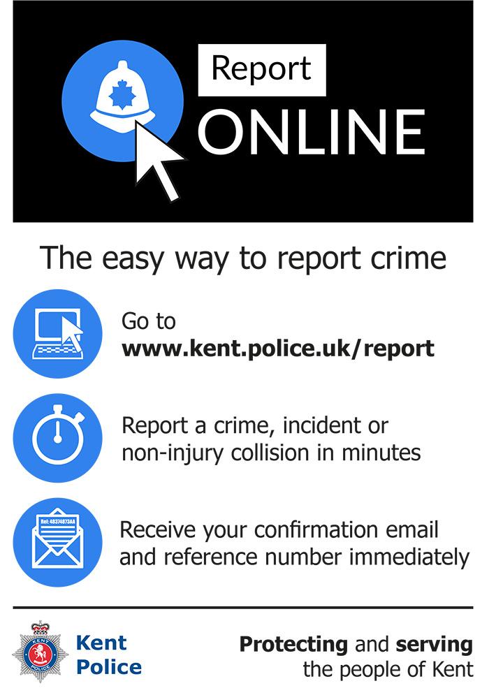 Kent Police Report Online www.kent.police.uk/report