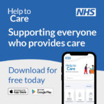 Help to care app screenshot