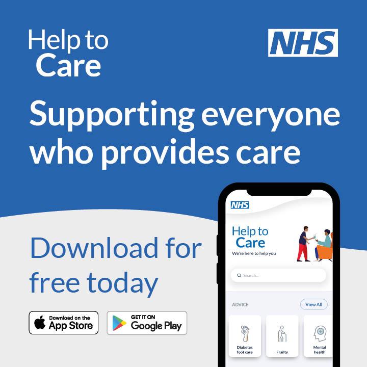 Help to care app screenshot