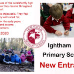Ightham Primary School New Entrants - full text on this poster is written out in text below