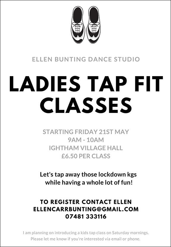 Ladies Tap Fit Classes